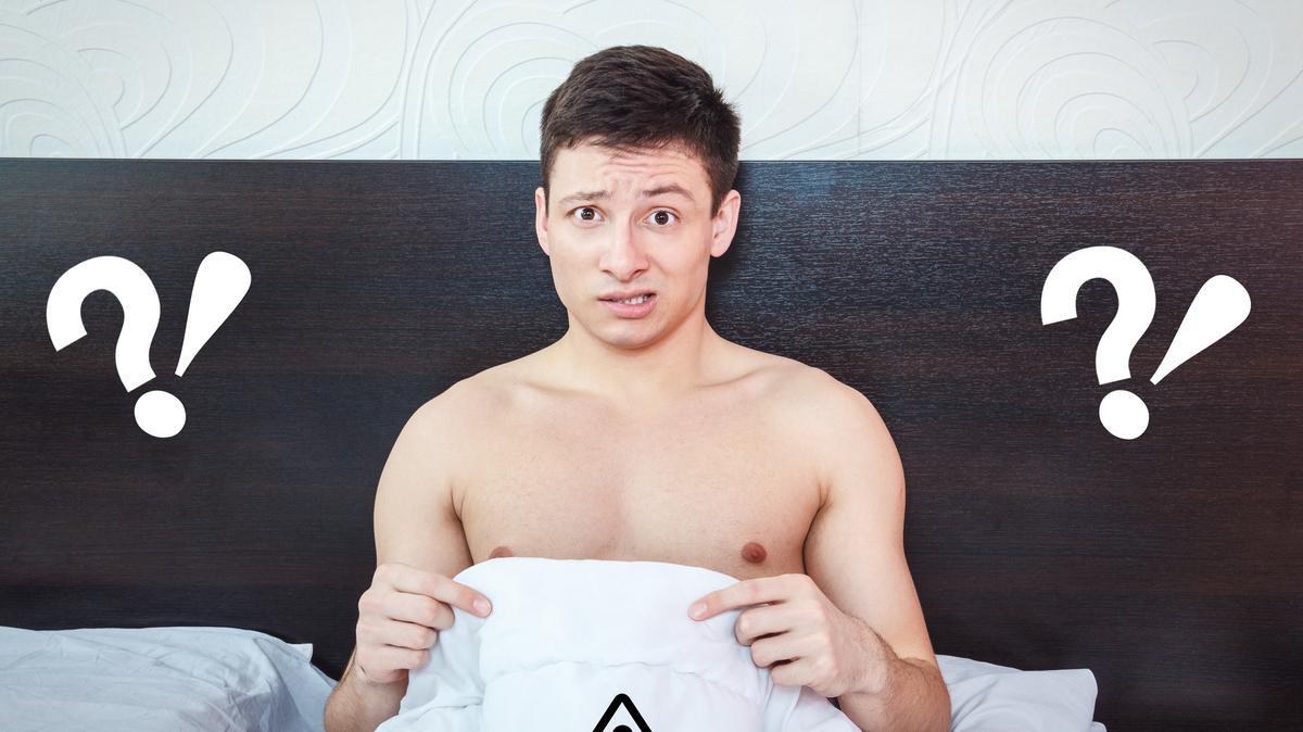 merevedés, mint egy pornó színész)