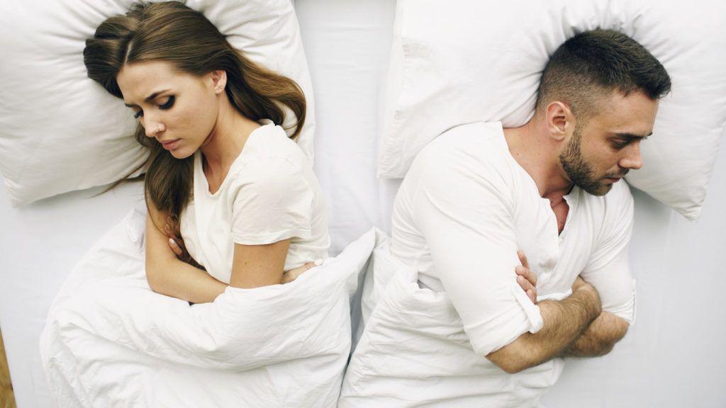 nem tud aludni egy lánnyal nincs merevedés