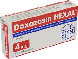 doxazosin erekció