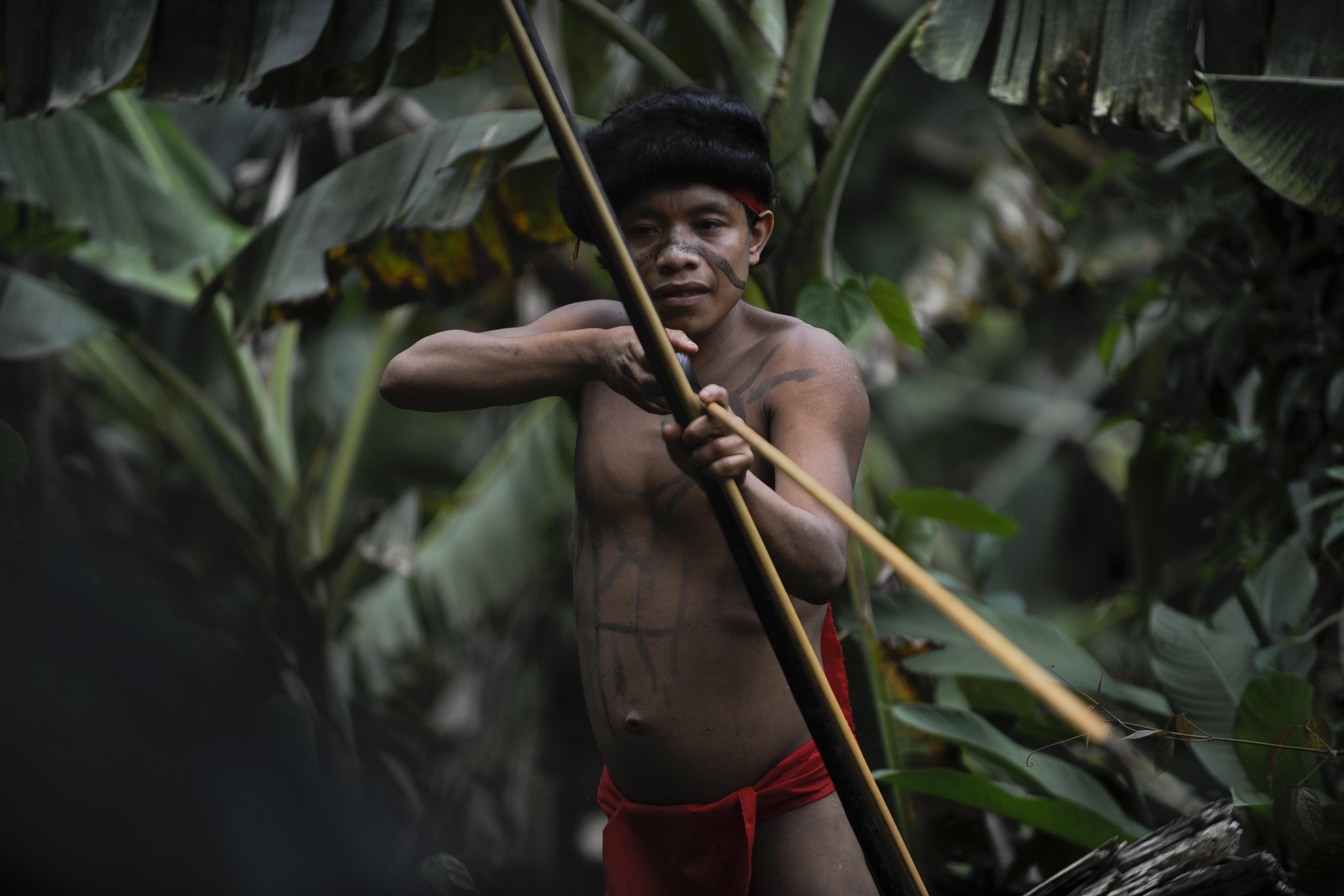 amazonasi őslakosok
