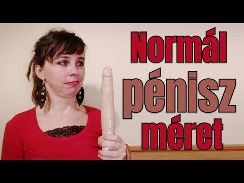 normális méretű pénisz)
