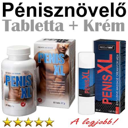 van-e krém a pénisz megnagyobbodására)