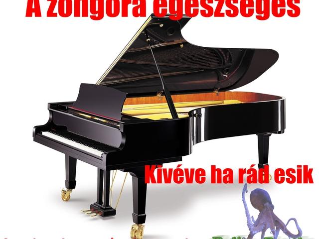 zongorán egy pénisz