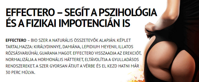 gyógyszerek a hatékonyság és az erekció növelésére