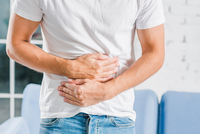 merevedés után a gyomor fáj