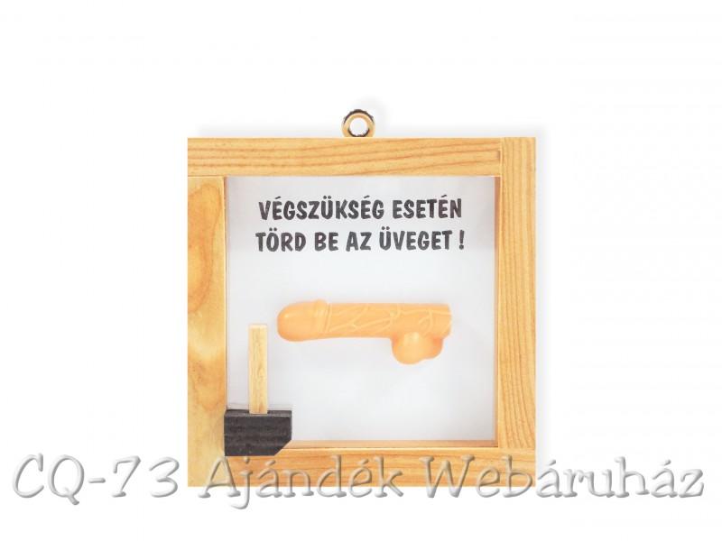 Pénisz Villantó Műcsali - bronz - Ajándék Ötletek – Crazyshop ajándék webáruház