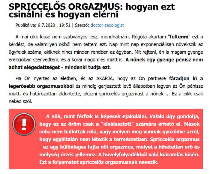 instabil erekciós kezelés)
