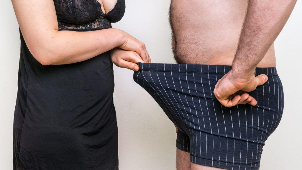 a pénisz egy erekció során nő