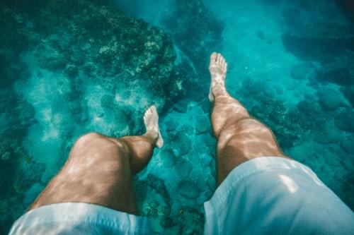 víz alatti masszázs és erekció)