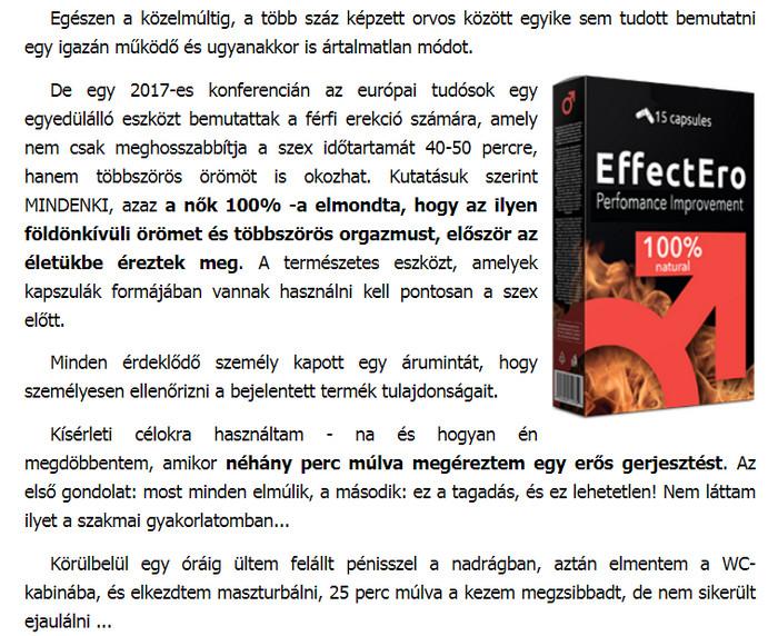 csökkent erekciós érzékenység)