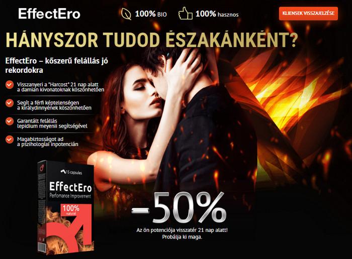 az erekciós tabletták mellékhatásai