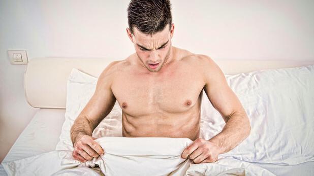 férfi nemi szervek az erekció során