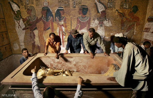 Megtalálták Tutanhamon elveszett péniszét