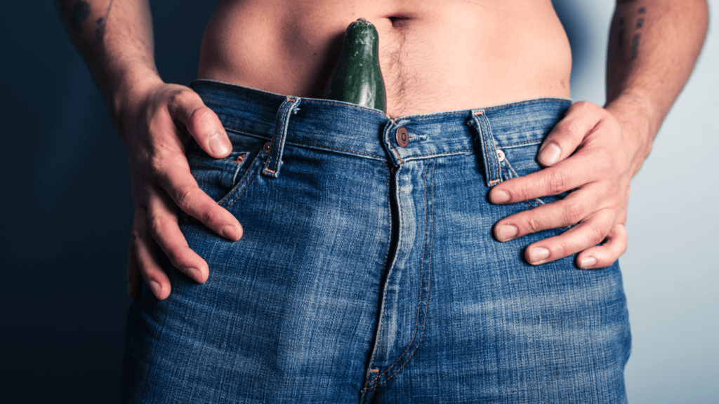 a pénisz nem derül ki