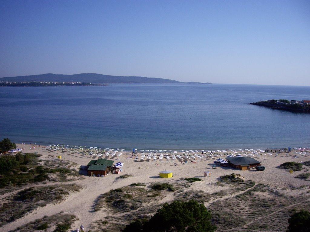 videós pufók srác a tengerparton)